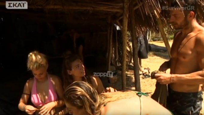 Survivor: «Επίθεση» της Ευρυδίκης Βαλάβάνη στον Γιώργο Αγγελόπουλο!