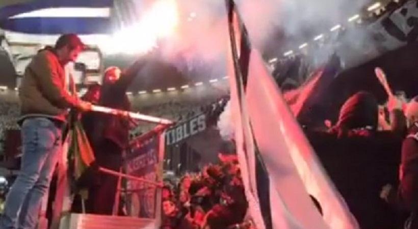 Άναψε καπνογόνο ο πρόεδρος της Μπορντό! (video)