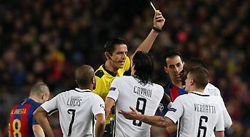 Δεν τιμωρεί το διαιτητή του Μπαρτσελόνα-Παρί η UEFA