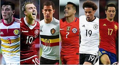 Οι διεθνείς της Premier