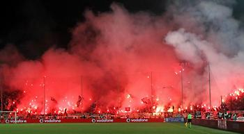 Λουκέτο της UEFA στη Θύρα 4!