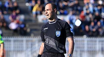 Βαρούχας στο sport-fm.gr: «Τρία λάθη στο Τρίκαλα-Λαμία, τραβηγμένο από τα μαλλιά το πέναλτι»