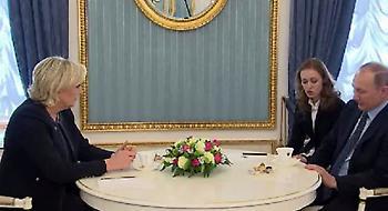 Πούτιν προς Λεπέν: Θα βλέπω όποιο γάλλο πολιτικό θέλω