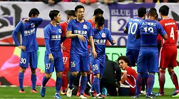 «Καμπάνα» έξι μηνών σε Κινέζο ποδοσφαιριστή από την ίδια του την ομάδα! (video)