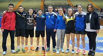 Χάλκινη η Ελλάδα στο Βαλκανικό Μπάντμιντον U19