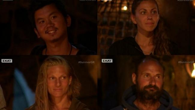 Survivor: Υποψήφιοι προς αποχώρηση Πάνος, Ορέστης, Ελισάβετ και Σάρα! (video)