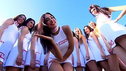 Έδωσαν ρέστα τα paddock girls στο Κατάρ (pics/video)