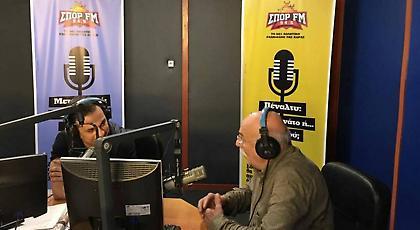 LIVE: Ο Αντώνης Αντωνίου στην εκπομπή του Ντέμη στον ΣΠΟΡ FM!