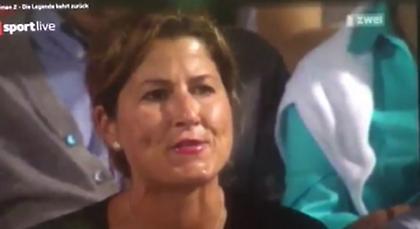 Γιούχαρε τον Κύργιο η σύζυγος του Φέντερερ! (video)