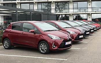 Αποστολή στην Ολλανδία: Νέο Toyota Yaris