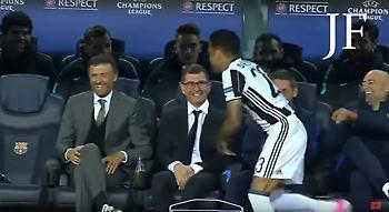 Ο Ντάνι Άλβες έχασε την έναρξη του ματς γιατί… χαιρέταγε! (video)