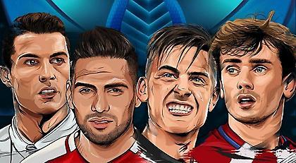 Ρεάλ-Ατλέτικο και Μονακό-Γιουβέντους στα ημιτελικά του Champions League