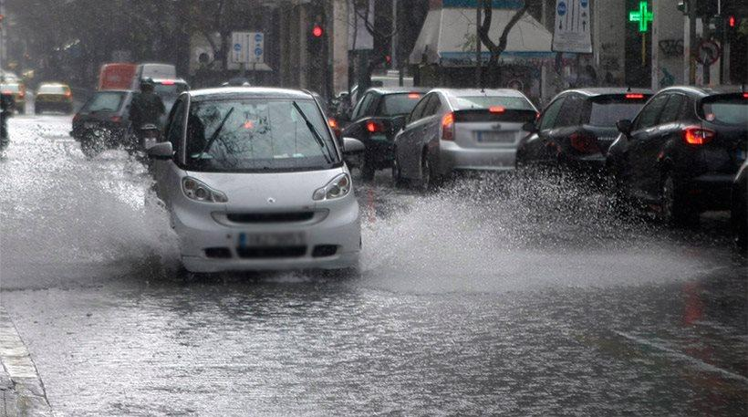 Έκτακτο δελτίο επιδείνωσης καιρού: Έρχονται βροχές και χαλάζι για 24 ώρες