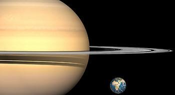 Συγκλονιστική φωτογραφία της Γης και της Σελήνης από τον Κρόνο!