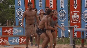 Survivor: Ευρυδίκη και Ντάνος έκοψαν τον αέρα στους αλαζόνες Μαχητές!