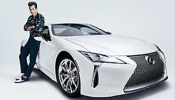 Ο Mark Ronson συνεργάζεται με τη Lexus για το νέο LC
