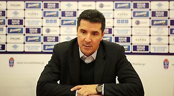 Πρίφτης: «Δύσκολη η χρονιά, κίνητρο το 0-2 με ΠΑΟΚ»
