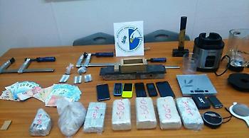 Συνελήφθησαν δύο αλλοδαποί για διακίνηση μεγάλων ποσοτήτων ηρωίνης