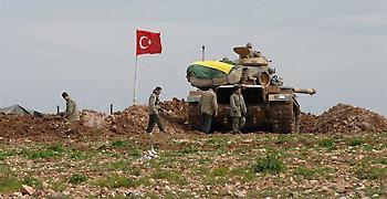 Μάχες μεταξύ τουρκικού στρατού και Κούρδων στα Τουρκοσυριακά σύνορα
