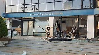 Γλυκά Νερά: Έβαλαν εκρηκτικό μηχανισμό και «σήκωσαν» το ΑΤΜ