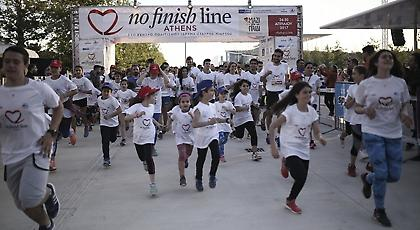 No Finish Line: Χιλιάδες δρομείς άρχισαν να τρέχουν για καλό σκοπό στο ΚΠΙΣΝ