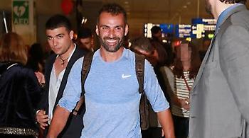 Έφτασε στην Ελλάδα ο Λάμπρος Χούτος (pics)