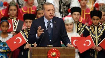 Νέες βολές Ερντογάν: Δεν μπορεί να μας κάνει μαθήματα δημοκρατίας η ΕΕ