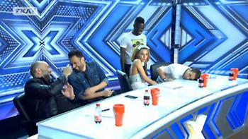 X Factor: Πανικός με τα σχόλια της Τάμτα στον διαγωνιζόμενο! «Σχεδόν φτάνει στο γόνατο…»