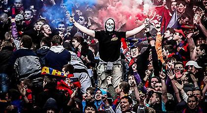 Ξύλο ανάμεσα σε οπαδούς της ΤΣΣΚΑ και της Σπαρτάκ Μόσχας (video)