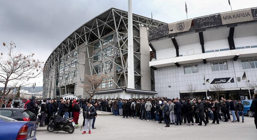 Αύριο η ανακοίνωση του ΠΑΟΚ για τα εισιτήρια του τελικού του Κυπέλλου