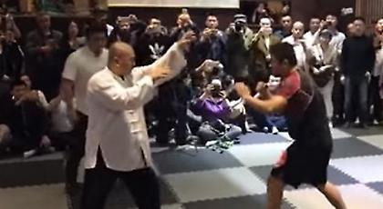 Αθλητής του MMA διαλύει δάσκαλο του Τάι Τσι (video)