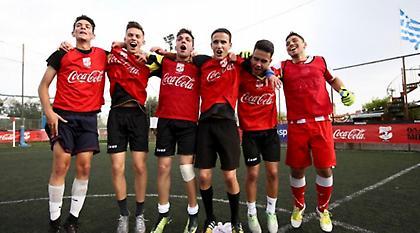 Οι τελικοί του Coca-Cola Cup στο Καραϊσκάκη!