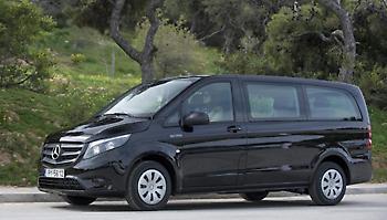 To νέο Mercedes-Benz Vito Tourer Dark Edition για την ελληνική αγορά