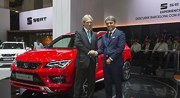 SEAT και Saba προωθούν τη δημιουργία του συνδεδεμένου οικοσυστήματος αυτοκινήτου