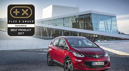 """Το νέο Opel Ampera-e Ψηφίστηκε """"Καλύτερο Προϊόν του 2017"""""""
