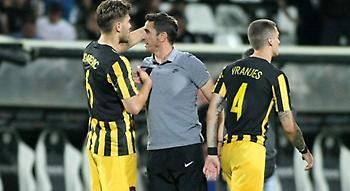 Αντρίκεια νίκη της ΑΕΚ με το 4-3-3 του Μανόλο