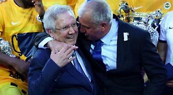 Ο Ομπράντοβιτς χοροπηδά και τραγουδά για τον πρόεδρο της Φενέρ (video)