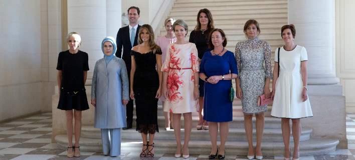 Σύνοδος ΝΑΤΟ: Εννιά Πρώτες Κυρίες και ένας Πρώτος Κύριος