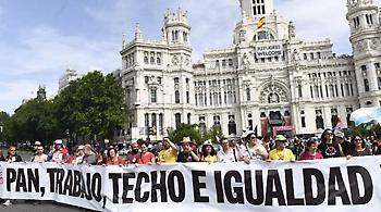 Μαδρίτη: 200.000 διαδηλωτές στην «πορεία της αξιοπρέπειας» (pics)
