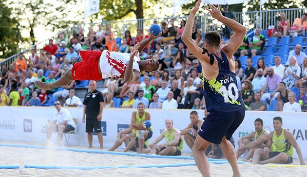 Πρεμιέρα του Beach Handball στον Κάλαμο