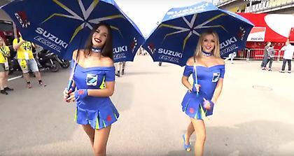 «Φωτιά» τα paddock girls στο Μουτζέλο (video)