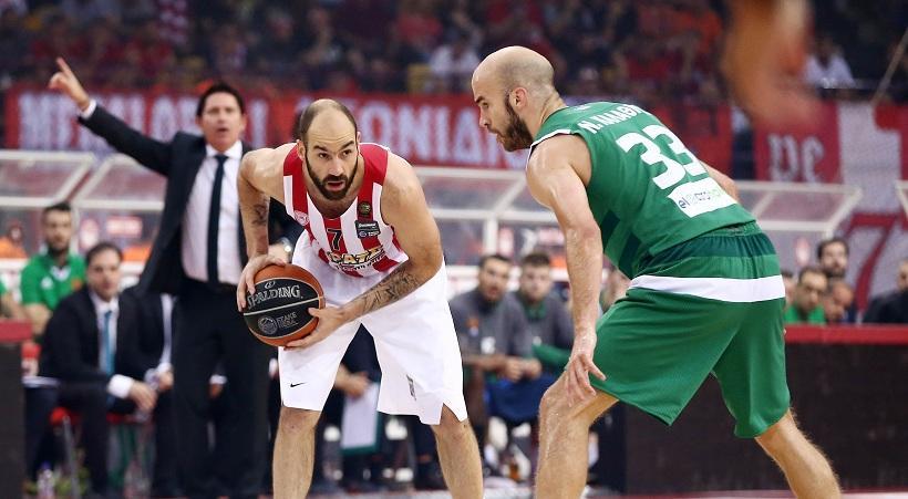 Α'1 Μπάσκετ: Σήμερα Κυριακή ο 5ος τελικός ανάμεσα σε Ολυμπιακό και Παναθηναϊκό