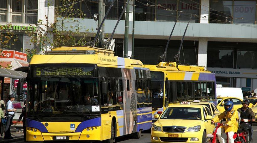 Χωρίς λεωφορεία και τρόλεϊ για έξι ώρες την Τρίτη