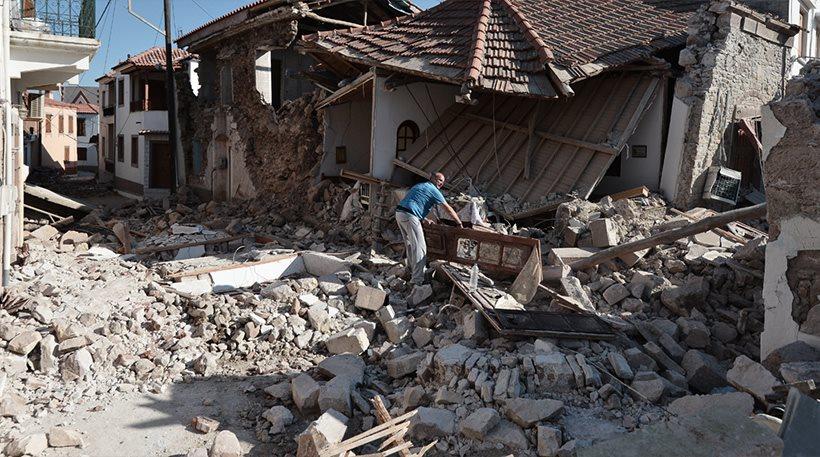Λέσβος: 350 άστεγοι από τον σεισμό - 150 μη κατοικήσιμα σπίτια