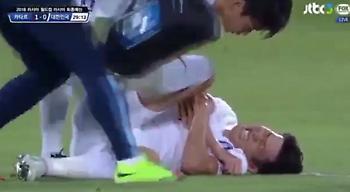 Πολύ άσχημος τραυματισμός για τον Σον (video)