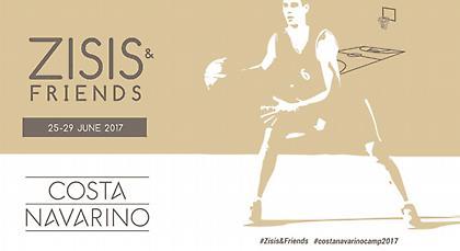 Costa Navarino Basketball Camp «Zisis & Friends» 25-29 Ιουνίου