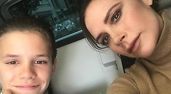Η φωτογραφία του Romeo Beckham που κοροϊδεύει τη μητέρα του, Victoria, έχει πάρει 70.000 like