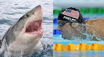 Αγώνα με… καρχαρία θα κάνει ο Φελπς!