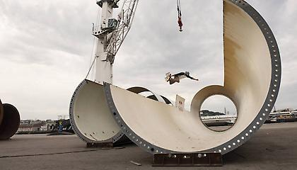 EOLO Project: Skateboarding σε…πύργο ανεμογεννήτριας