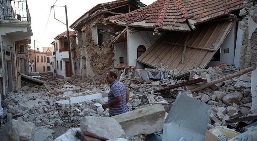Λέσβος: Ακατάλληλα 690 κτίρια από τα 1.245 που έχουν ελεγθεί